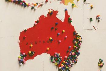 География на виното: Австралия